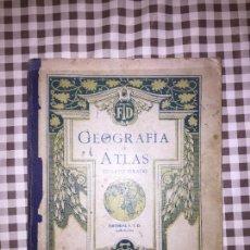 Libros antiguos: GEOGRAFIA ATLAS CUARTO GRADO FTD, LEER. Lote 111182623