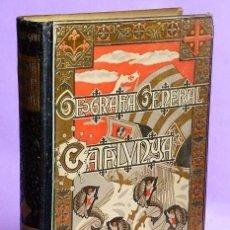 Libros antiguos: GEOGRAFÍA GENERAL DE CATALUNYA. PROVINCIA DE TARRAGONA.. Lote 111466351