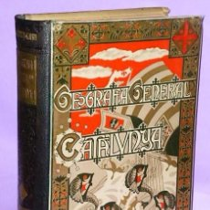 Libros antiguos: GEOGRAFÍA GENERAL DE CATALUNYA. PROVINCIA DE LLEYDA.. Lote 111466507
