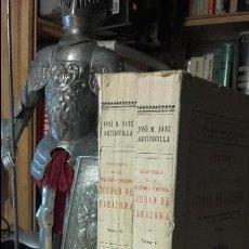 Libros antiguos: HISTORIA DE LA FIDELISIMA Y VENCEDORA CIUDAD DE TARAZONA. DOS TOMOS. COMPLETA. (ARAGON). Lote 111821647