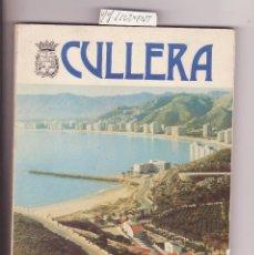 Libros antiguos: LIBRO CULLERA BAHIA DE LOS NARANJOS CON MUCHAS FOTOS EN BLANCO Y NEGRO Y COLOR FOTO DE UNA FALLA. Lote 112118955