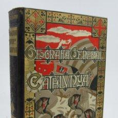 Libros antiguos: GEOGRAFIA GENERAL DE CATALUNYA, CEFERÍ ROCAFORT, PROVINCIA DE LLEIDA, CARRERAS CANDI. 20,5X28CM. Lote 112417199