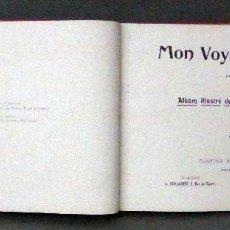 Libri antichi: MON VOYAGE EN ITALIE A SPUHLER COMPTOIR PHOTOTYPIE NEUCHATEL HACIA 1890 FOTOGRAFÍAS ITALIA. Lote 112530159