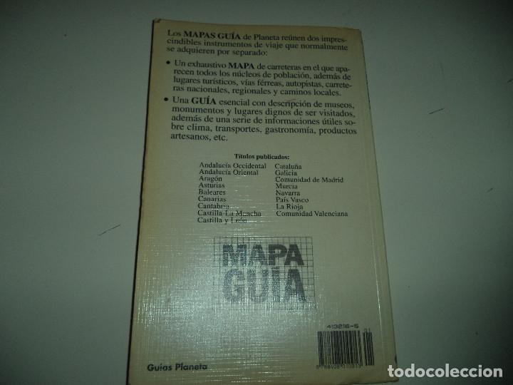 Libros antiguos: MAPA GUIA DE EXTREMADURA.Guias Planeta. - Foto 2 - 112716587