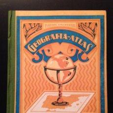 Libros antiguos: GEOGRAFIA-ATLAS POR RAFAEL BALLESTER. GRADO SUPERIOR.1931. Lote 113116227