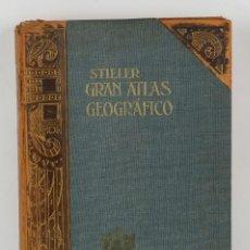 Libros antiguos: GRAN ATLAS GEOGRÁFICA DE STIELER-NOVENA EDICIÓN-ED.GOTHA PERTHED 1910. Lote 158500416