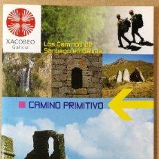 Libri antichi: CAMINO PRIMITIVO. XACOBEO 2004. EL CAMINO DE SANTIAGO DE COMPOSTELA. 12 X 22 CM. 43 PAG.. Lote 113633207