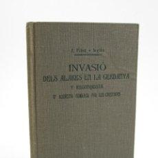Libros antiguos: INVASIÓ DELS ALARBS EN LA CERDANYA Y RECONQUISTA PER LOS CRISTIANS, J.FITER, 1878, BARCELONA.14X21CM. Lote 113651295
