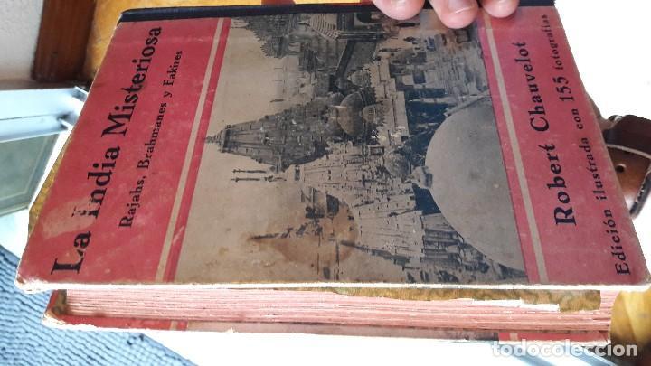Libros antiguos: La India Misteriosa - Rajahs, Brahmanes y Fakires - Robert Chauvelot - Foto 2 - 113899031