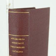 Libros antiguos: ANUARI DE LA ASSOCIACIÓ D'EXCURSIONS CATALANA-1882. Lote 114380543