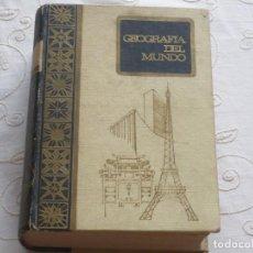 Libros antiguos: ANTIGUA GEOGRAFÍA DEL MUNDO.EDITADA EN 1968. Lote 114445167