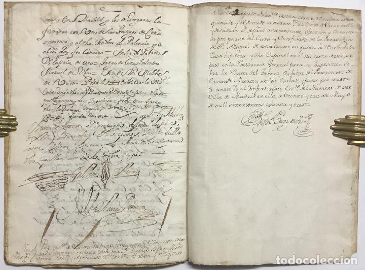 Libros antiguos: DOÑA EUGENIA DE HARO. ESCRITURA DE IMPOSICION DE CENSO DE... - [Manuscrito.] Madrid, 1683. - Foto 5 - 114799478