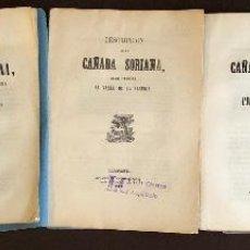 Libros antiguos: CAÑADAS(DESCRIPCION)(50€). Lote 115419119