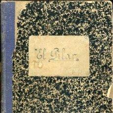 Libros antiguos: MANUSCRITO TETUAN FUTBOL ALPINISMO COLEGIO EL PILAR JEBEL KELTI . Lote 115434343