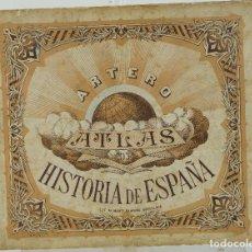 Libros antiguos: ATLAS HOSTÓRICO-GEOGRÁFICO DE ESPAÑA-DON JUAN DE LA GLORIA ARTERO-9ªEDICIÓN. Lote 115609779