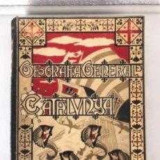 Libros antiguos: GEOGRAFÍA GENERAL DE CATALUNYA. PROVINCIA DE BARCELONA. EDIT. A. MARTÍN. S/F.. Lote 115767083