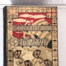 Libros antiguos: GEOGRAFIA GENERAL DE CATALUNYA - CATALUNYA - LLUIS MARIAN VIDAL - F. CARRERAS CANDI - (1910). Lote 115768395
