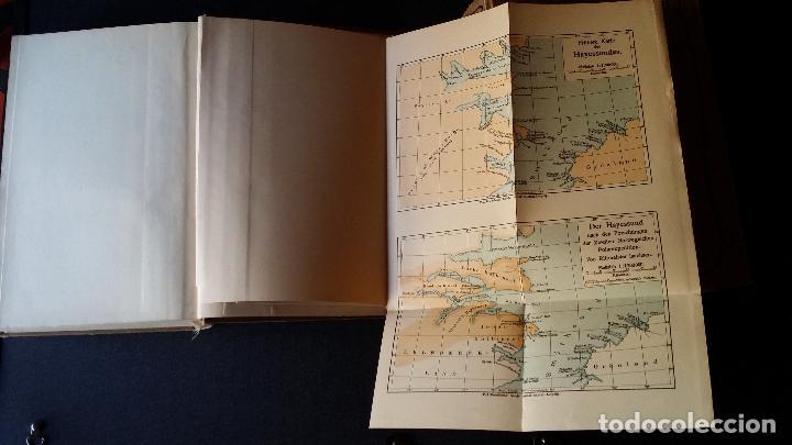 Libros antiguos: firmado por C. WITTGENSTEIN / Otto Sverdrup, NEUES LAND, 1903, 1ª edición / / Expedición ARTICO / - Foto 8 - 116789399