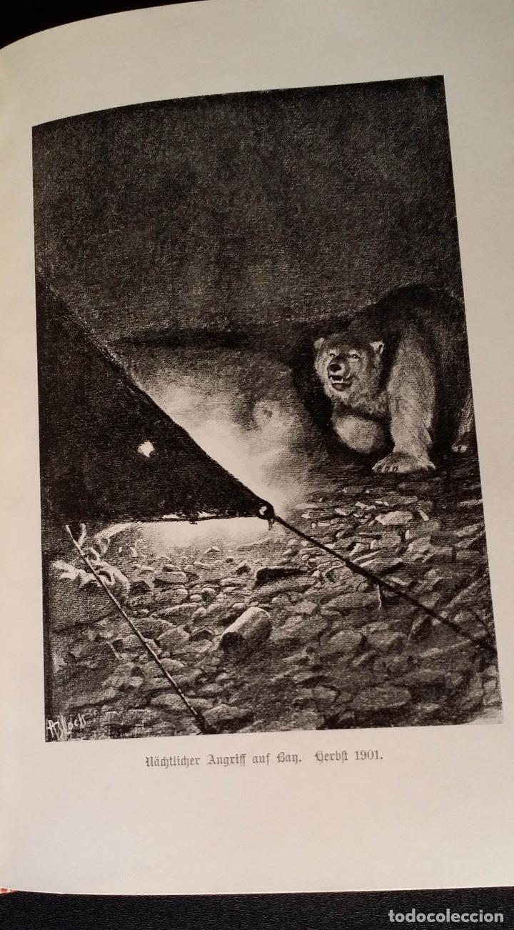 Libros antiguos: firmado por C. WITTGENSTEIN / Otto Sverdrup, NEUES LAND, 1903, 1ª edición / / Expedición ARTICO / - Foto 9 - 116789399