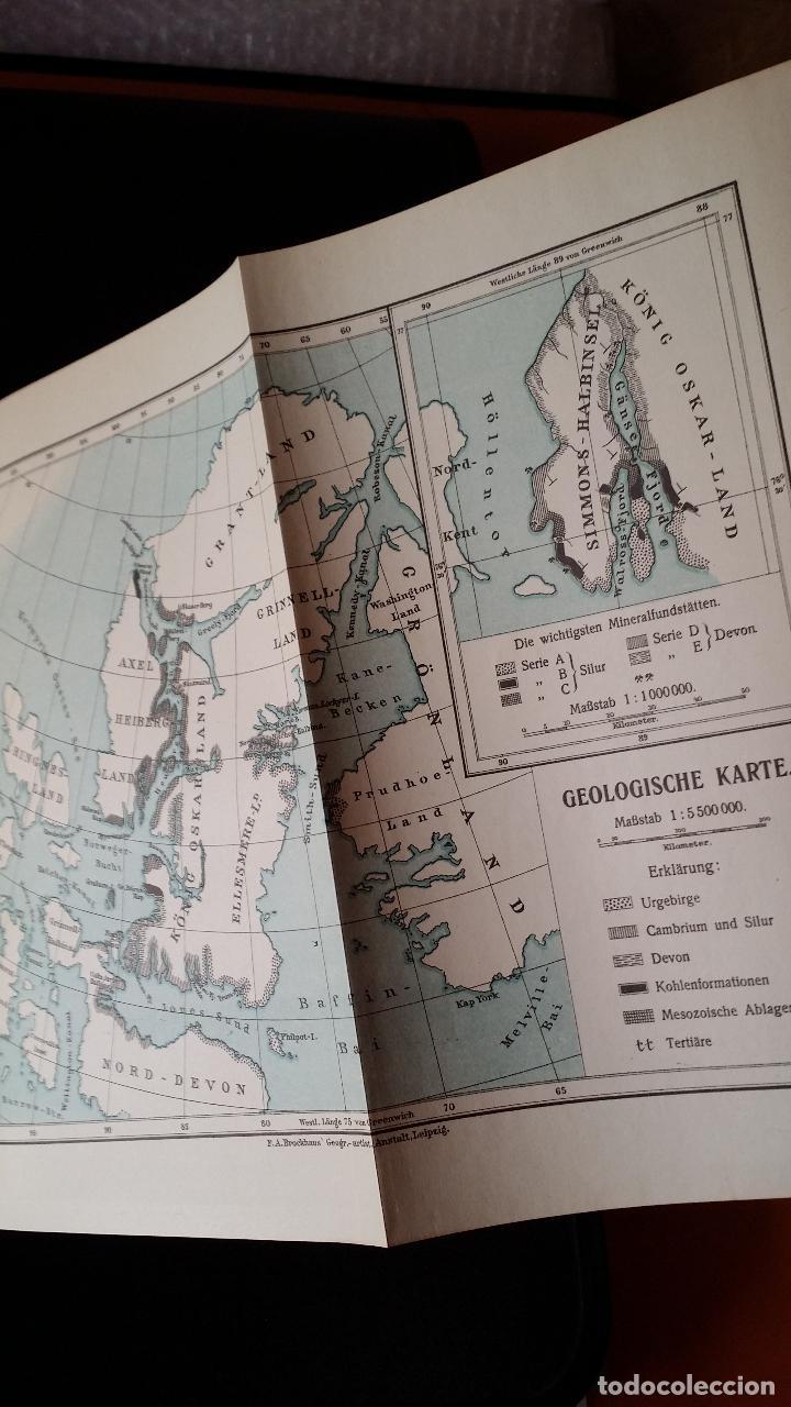 Libros antiguos: firmado por C. WITTGENSTEIN / Otto Sverdrup, NEUES LAND, 1903, 1ª edición / / Expedición ARTICO / - Foto 11 - 116789399