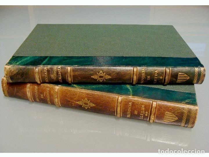 Libros antiguos: GEOGRAFIA GENERAL DE CATALUNYA PROVINCIA DE LLEIDA 2 VOL. FRANCESC CARRERAS CANDI Y CELERI ROCAFORT - Foto 3 - 56926006