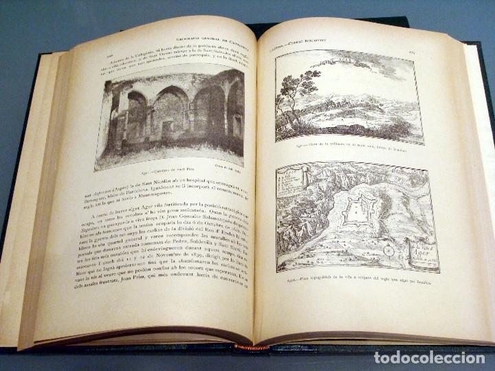 Libros antiguos: GEOGRAFIA GENERAL DE CATALUNYA PROVINCIA DE LLEIDA 2 VOL. FRANCESC CARRERAS CANDI Y CELERI ROCAFORT - Foto 10 - 56926006
