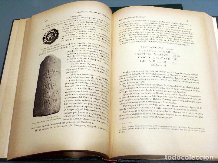 Libros antiguos: GEOGRAFIA GENERAL DE CATALUNYA PROVINCIA DE LLEIDA 2 VOL. FRANCESC CARRERAS CANDI Y CELERI ROCAFORT - Foto 11 - 56926006