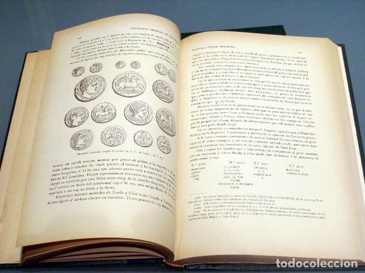 Libros antiguos: GEOGRAFIA GENERAL DE CATALUNYA PROVINCIA DE LLEIDA 2 VOL. FRANCESC CARRERAS CANDI Y CELERI ROCAFORT - Foto 12 - 56926006
