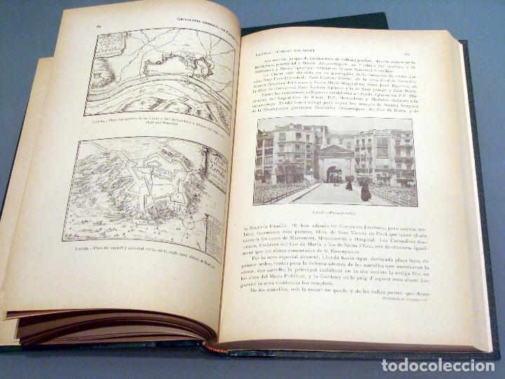 Libros antiguos: GEOGRAFIA GENERAL DE CATALUNYA PROVINCIA DE LLEIDA 2 VOL. FRANCESC CARRERAS CANDI Y CELERI ROCAFORT - Foto 13 - 56926006