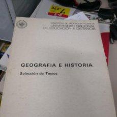 Libros antiguos: GEOGRAFIA E HISTORIA AÑO 1978 MINISTERIO DE EDUCACIÓN Y CIENCIA . Lote 117518723