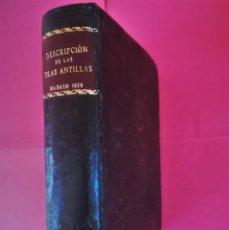Libros antiguos: MARINA ESPAÑOLA,LIBRO DERROTERO DE LAS ISLAS ANTILLAS,SIGLO XIX,AÑO 1820,PARTE MANUSCRITO,NAVEGACION. Lote 117564239