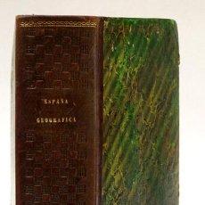 Libros antiguos: MELLADO (F. DE P.). ESPAÑA GEOGRÁFICA, HISTÓRICA, ESTADÍSTICA Y PINTORESCA. 1845. ILUSTRADO GRABADOS. Lote 117801948