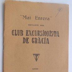 Libros antiguos: APUNTES DE UNA EXCURSION AL TEIDE - LLUIS MALLOL AÑO 1928 / CLUB EXCURSIONISTA DE GRACIA / EN CATALA. Lote 118483031