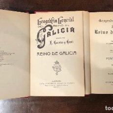 Libros antiguos: GEOGRAFÍA GENERAL DEL REINO DE GALICIA-13TOMOS(398€). Lote 118489279