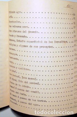 Libros antiguos: ALCÁNTARA, Juan - VEINTICINCO AÑOS MARRUECOS. Descripción costumbres Indígenas y hebreos - Inédito - Foto 4 - 118919274