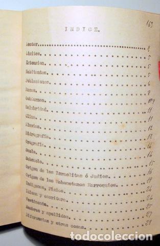 Libros antiguos: ALCÁNTARA, Juan - VEINTICINCO AÑOS MARRUECOS. Descripción costumbres Indígenas y hebreos - Inédito - Foto 5 - 118919274