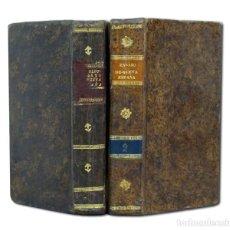 Libros antiguos: HUMBOLDT. ENSAYO POLÍTICO SOBRE EL REYNO [REINO] DE NUEVA ESPAÑA. 1818. 2 TOMOS. 1ª EDIC. CASTELLANO. Lote 119407372