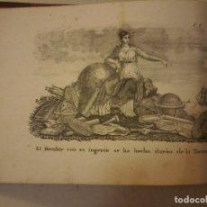 Libros antiguos: LA GEOGRAFIA EN LAMINAS Y MAPAS - 1834 - GRABADOS - ATLAS - CARTE- MAP. Lote 120762503