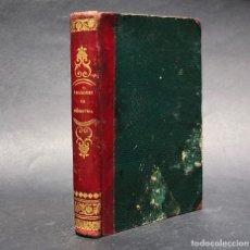 Libros antiguos: 1858 LECCIONES DE GEOMETRÍA CON UNAS NOCIONES DE LA DESCRIPTIVA - MATEMÁTICAS. Lote 121415211