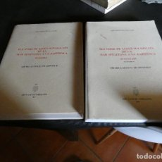 Libros antiguos: ELS NOMS DE LLOCS SOTATIGUATS DE LA MAR SITGETANA A A LA RAPITECA. VOLUMEN INVENTARI 2+ LIBRO PLANOS. Lote 121597639
