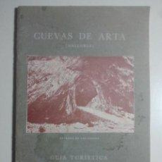 Libros antiguos: CUEVAS DE ARTÁ - JOSÉ VIDAL ISERN - GUÍA TURÍSTICA DE ARTÁ Y CAPDEPERA - CASA MATONS, 1929. Lote 122312995