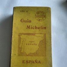 Libros antiguos: GUIA MICHELIN AÑO 1917. Lote 122903880