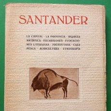 Livros antigos: SANTANDER - VV. AA. - COMPAÑÍA IBEROAMERICANA DE PUBLICACIONES - 1928. Lote 123029591