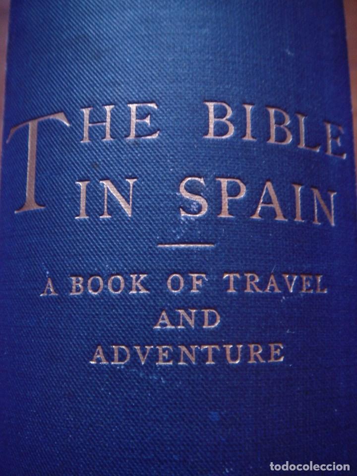 Libros antiguos: ESPLÉNDIDO LIBRO DE VIAJES POR ESPAÑA, ORIGINAL, LONDRES....., 1893, BORROW, 11 ESPLÉNDIDOS GRABADOS - Foto 3 - 124403599