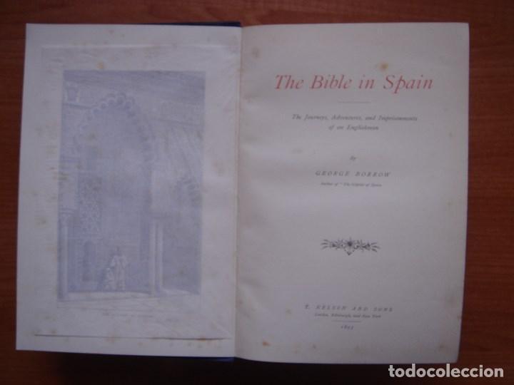 Libros antiguos: ESPLÉNDIDO LIBRO DE VIAJES POR ESPAÑA, ORIGINAL, LONDRES....., 1893, BORROW, 11 ESPLÉNDIDOS GRABADOS - Foto 10 - 124403599