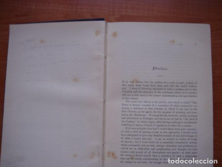 Libros antiguos: ESPLÉNDIDO LIBRO DE VIAJES POR ESPAÑA, ORIGINAL, LONDRES....., 1893, BORROW, 11 ESPLÉNDIDOS GRABADOS - Foto 15 - 124403599