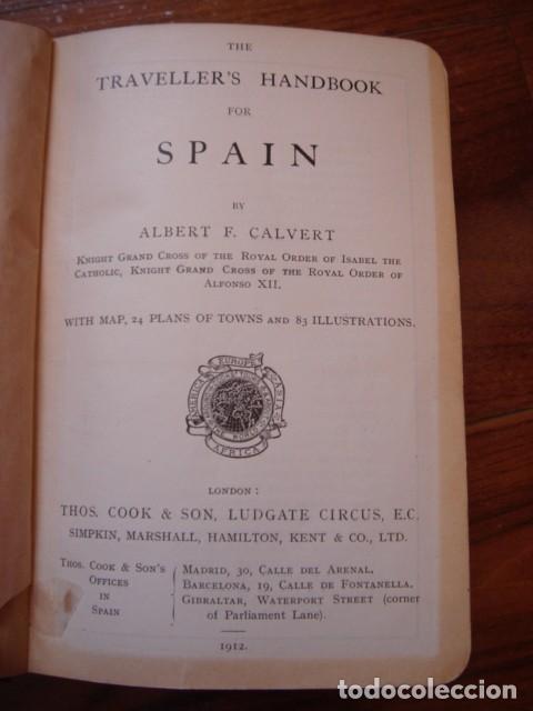 Libros antiguos: ESPLÉNDIDO LIBRO DE VIAJES ESPAÑA, COOK´S,ORIGINAL,1912,LONDRES, 24 PLANOS 83 ILUSTRACIONES,PERFECTO - Foto 5 - 124404363