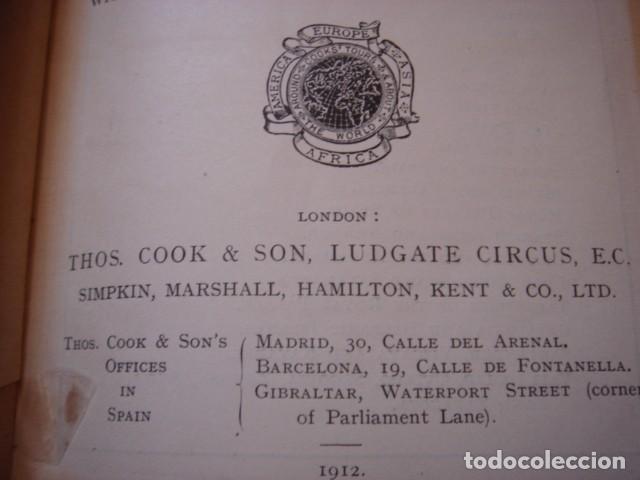Libros antiguos: ESPLÉNDIDO LIBRO DE VIAJES ESPAÑA, COOK´S,ORIGINAL,1912,LONDRES, 24 PLANOS 83 ILUSTRACIONES,PERFECTO - Foto 8 - 124404363