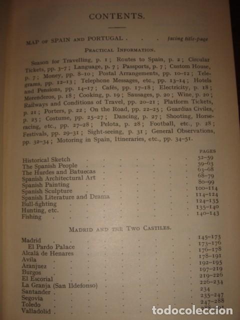 Libros antiguos: ESPLÉNDIDO LIBRO DE VIAJES ESPAÑA, COOK´S,ORIGINAL,1912,LONDRES, 24 PLANOS 83 ILUSTRACIONES,PERFECTO - Foto 39 - 124404363
