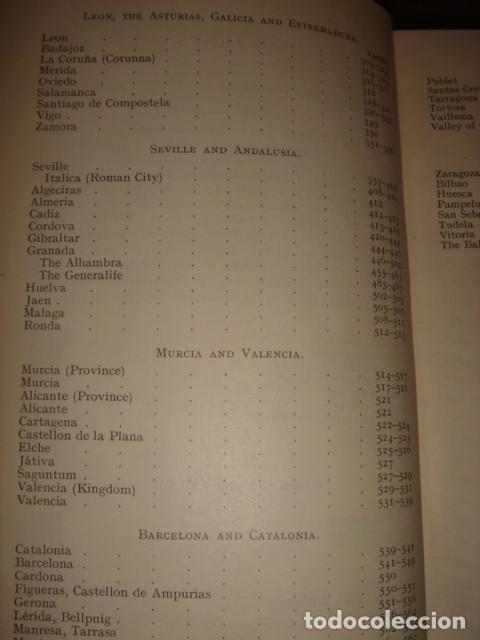 Libros antiguos: ESPLÉNDIDO LIBRO DE VIAJES ESPAÑA, COOK´S,ORIGINAL,1912,LONDRES, 24 PLANOS 83 ILUSTRACIONES,PERFECTO - Foto 40 - 124404363